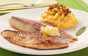 Tilápia Grelhada com Margarina