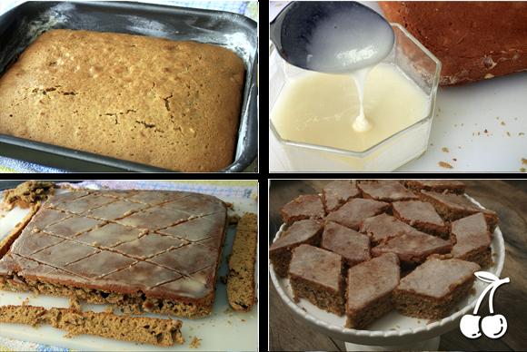 """DESAFIO: Bolo de """"Pão de Mel"""", com textura de bolo e sabor de pão de mel"""