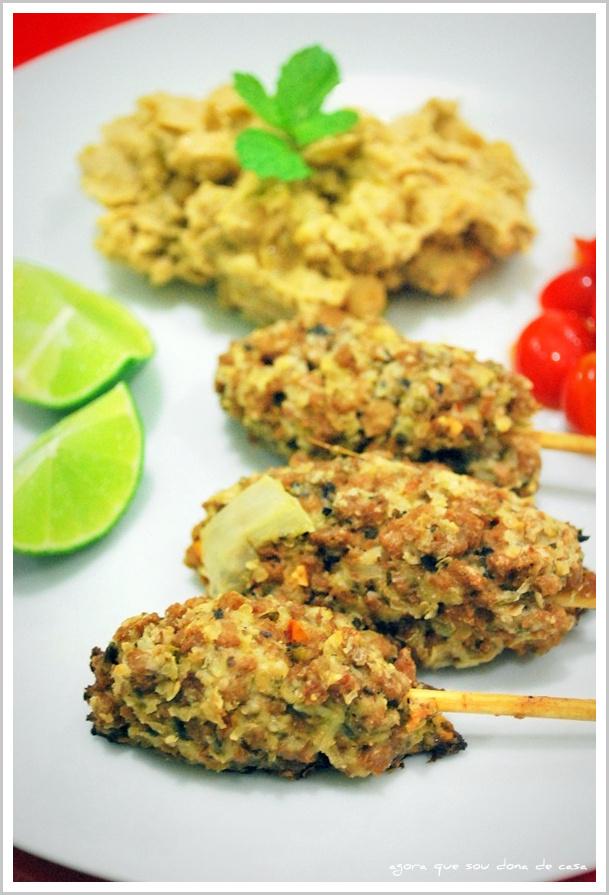 cozinha experimental: kaftas vegetarianas com homus