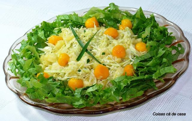salada de repolho com abacaxi 1 repolho