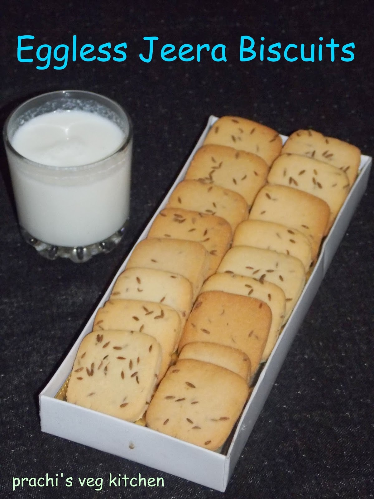 Eggless Jeera Biscuits/ cumin cookies