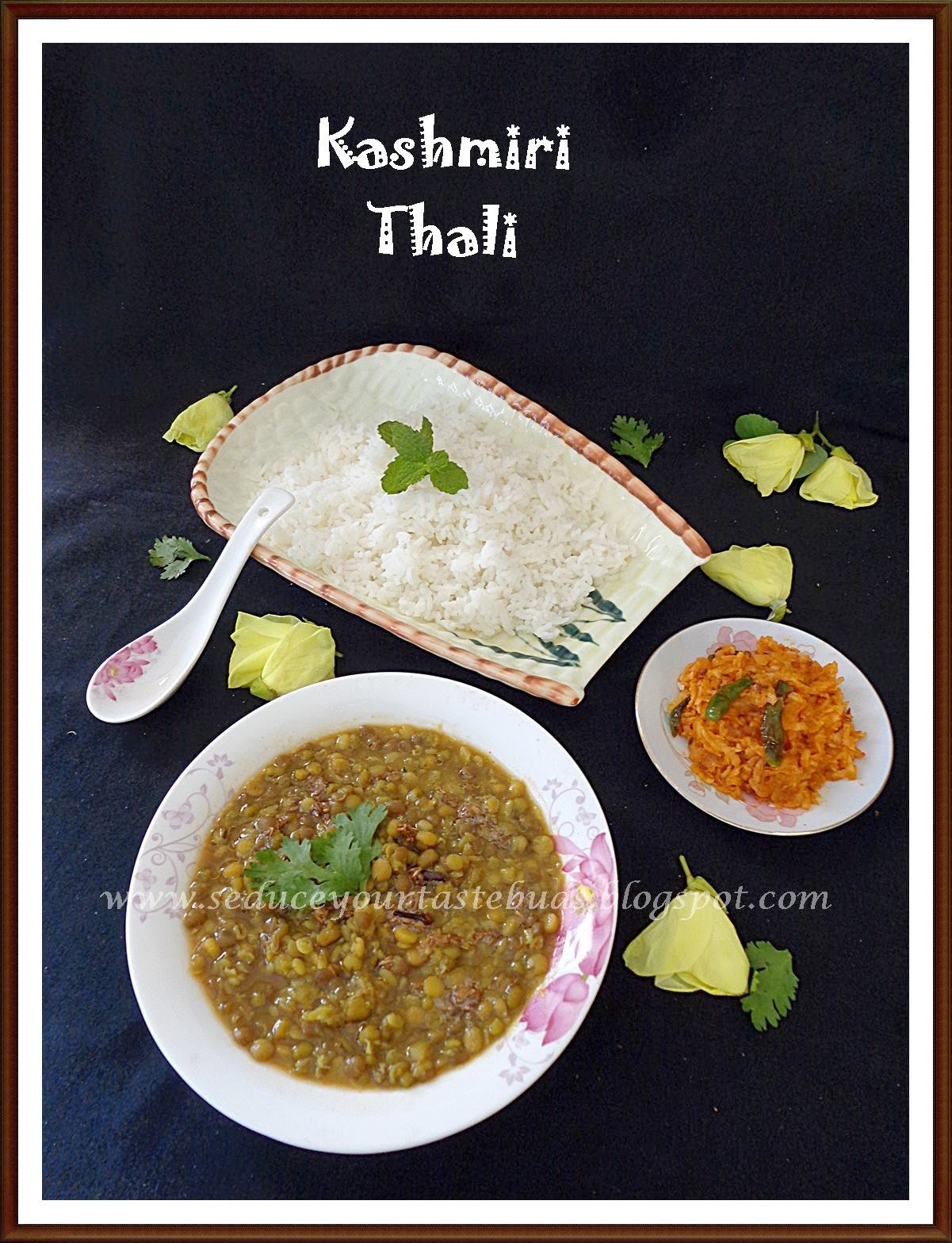 Dal Panchmel & Mujj Chatin | Dal Medley and Stir Fried Radish Chutney - Jammu and Kashmir