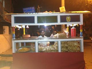 Masala Puri Chaat-Bangalore street snack!