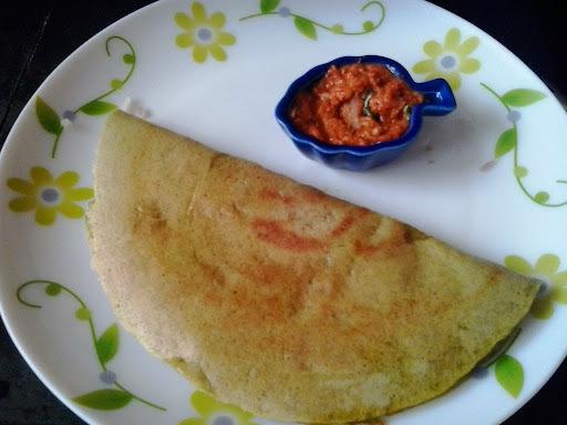 Pesarattu Recipe | Andhra Pesarattu Dosa |Green Moong Dal dosai