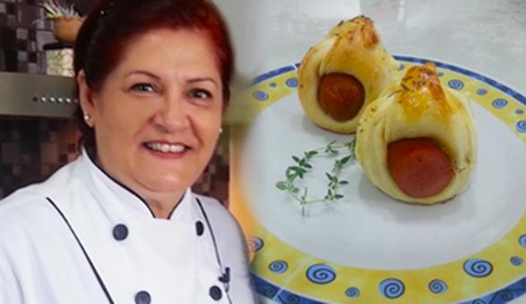 Palavra de Chef - Pãezinhos rápidos de salsicha, por Marilze Venturelli