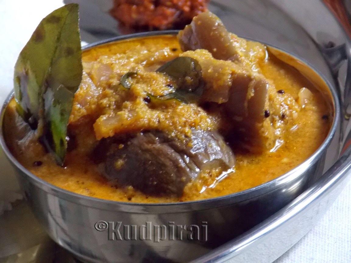Gulla/Vaingana Saglen(Brinjal Curry)