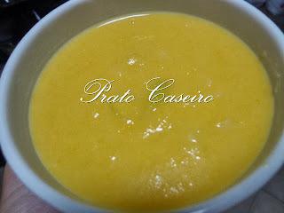 Sopa de alho francês na Bimby