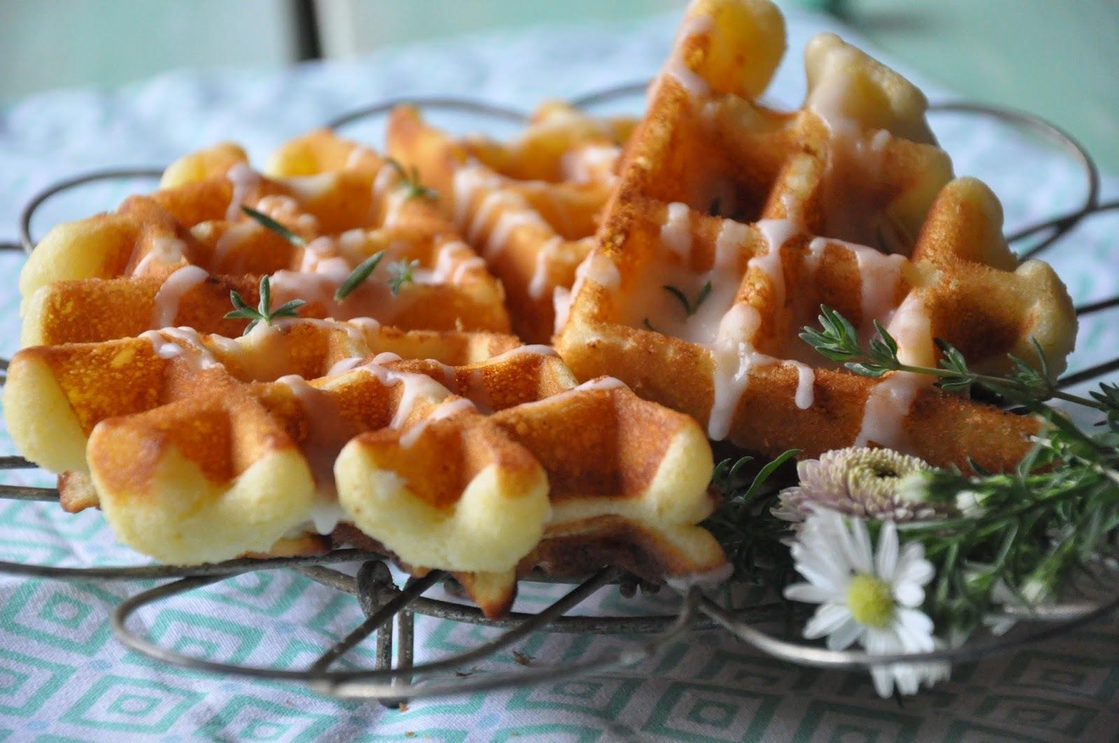 Waffles de ricotta