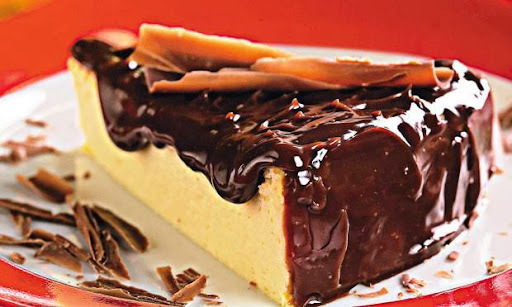 cheesecake facil com ricota e chocolate