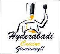 Giveaway @ Hyderabad Cuisine