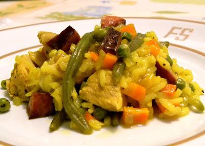 Paella de Frango