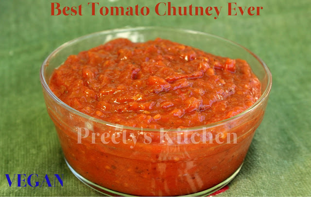 Best Tomato Chutney Ever / Vegan Recipe