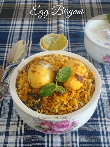 Egg Dum Biryani | Restaurant Egg Biryani Recipe | Hyderabad Egg Biryani