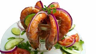Recette cocktail de crevettes au pamplemousse - compatible régime sans gluten