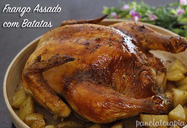 Frango Assado com Batatas