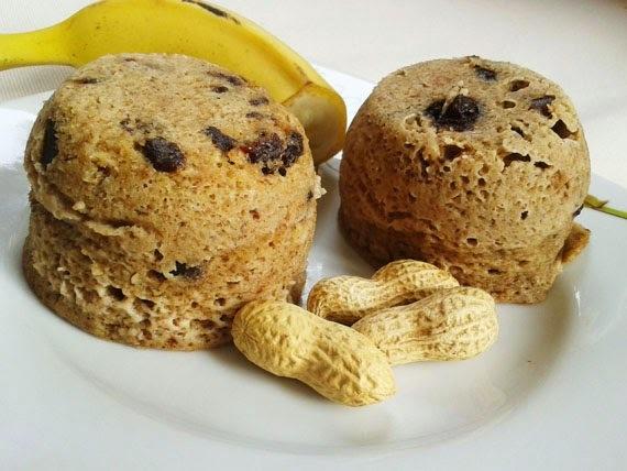 Fitness muffinky z mikrovlnky - bez múky!