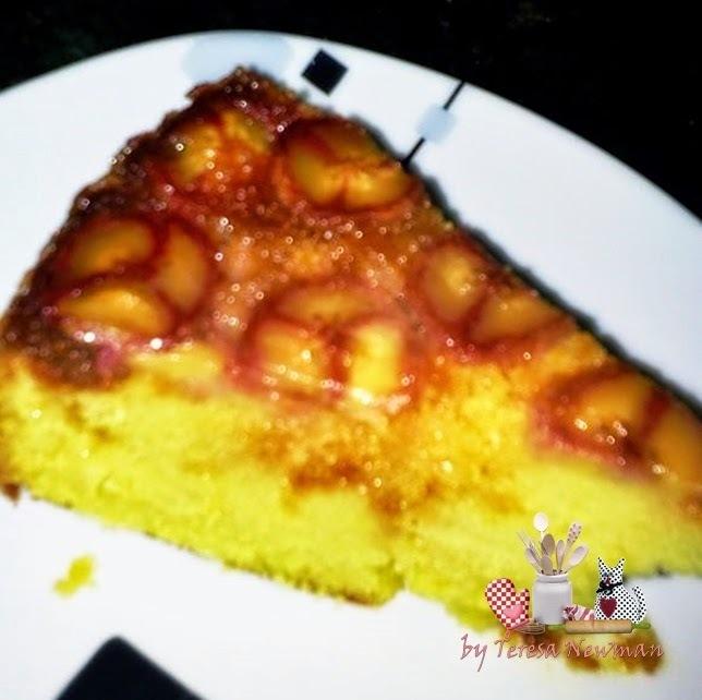 Bolo de Banana caramelizado, o divino bolo invertido.