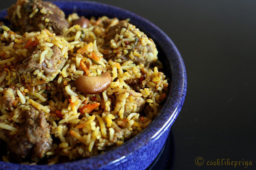 Hyderabadi Mutton Biryani / Kachi Biryani