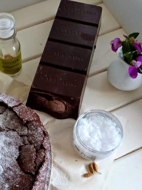100% chocolate | torta húmeda sin harina