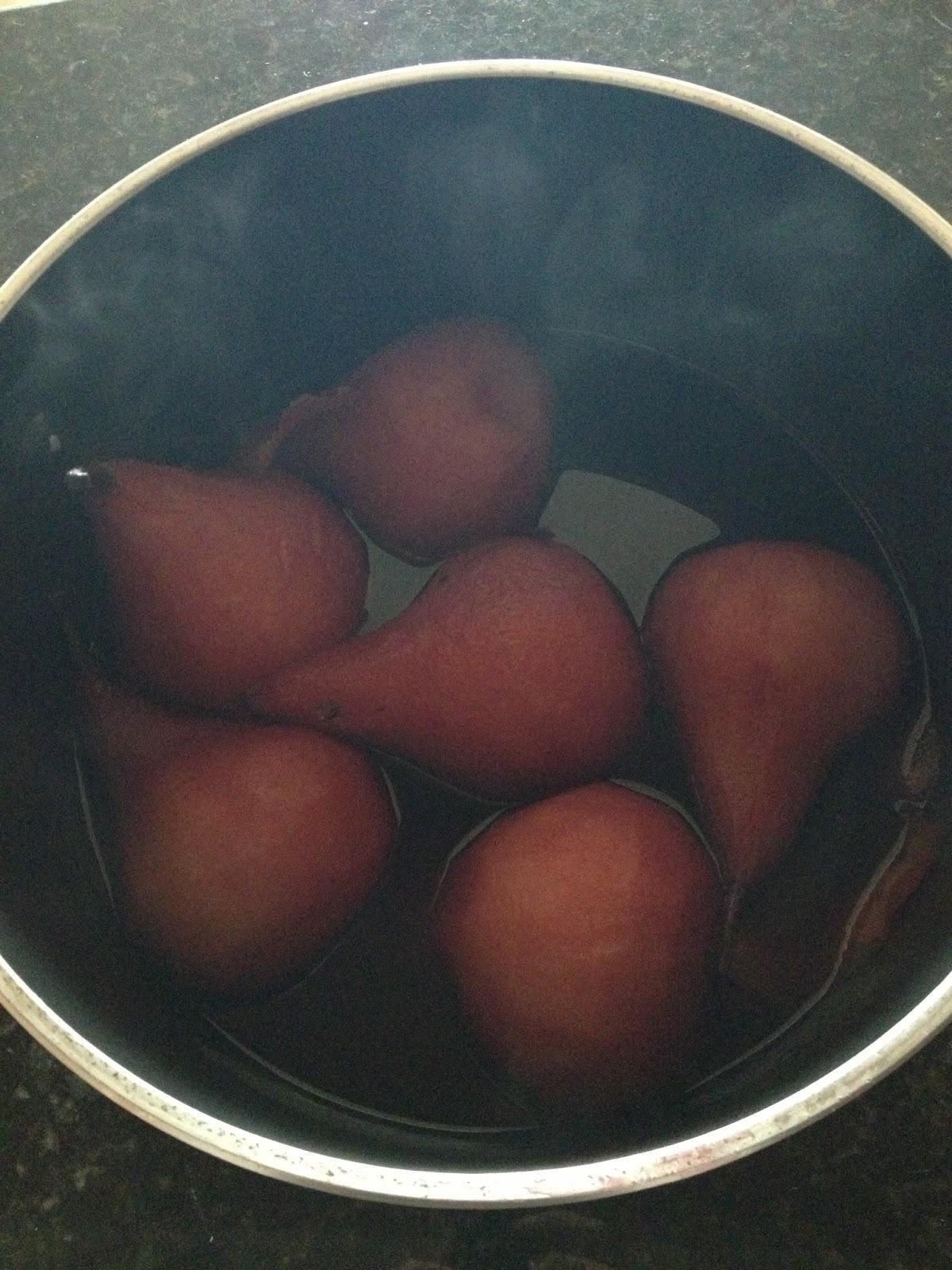 Peras al Vino