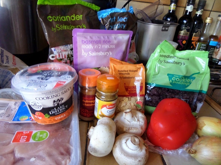 Cooking with Quark : One Pot Chicken Tikka Rice