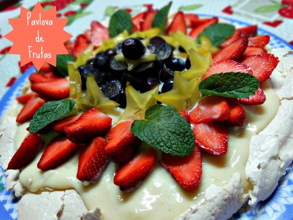 Pavlova de Frutas Frescas