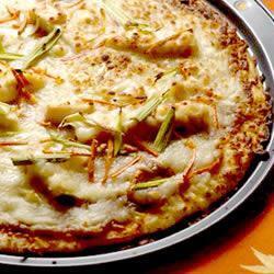 massa de pizza de cenoura liquidificador