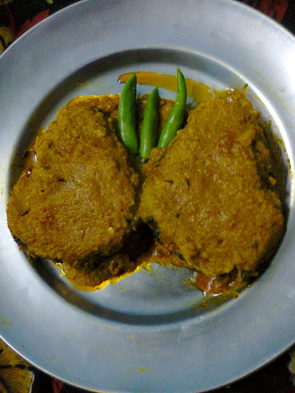 Yoghurt Fish / Fish with Curd / Bengali Doi Mach