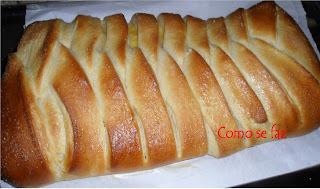 Pão trançado de limão (catarina)