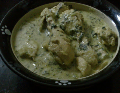 malai chicken curry by sanjeev kapoor