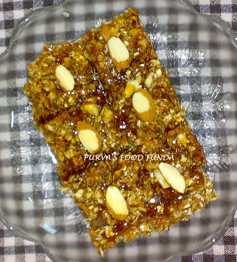 Oats Almond Perk Bar (Oats Almond Chikki)