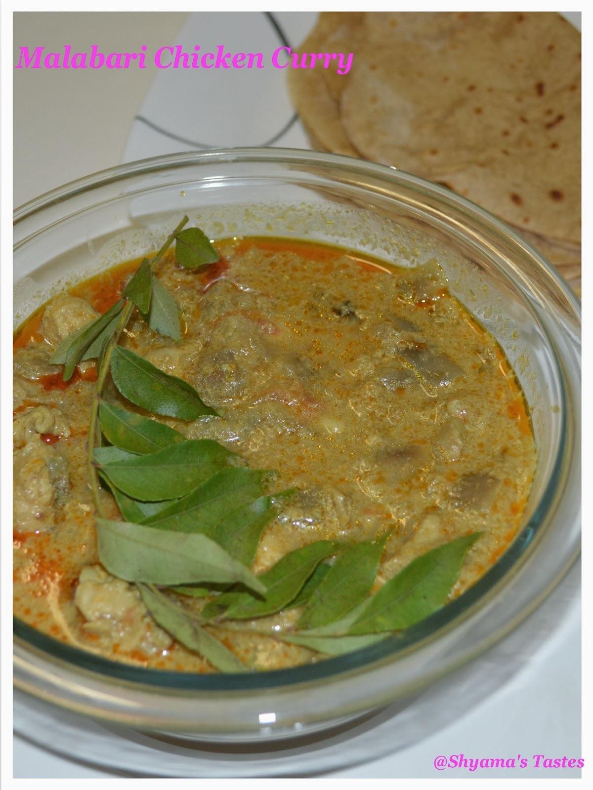 Malabari Chicken Curry