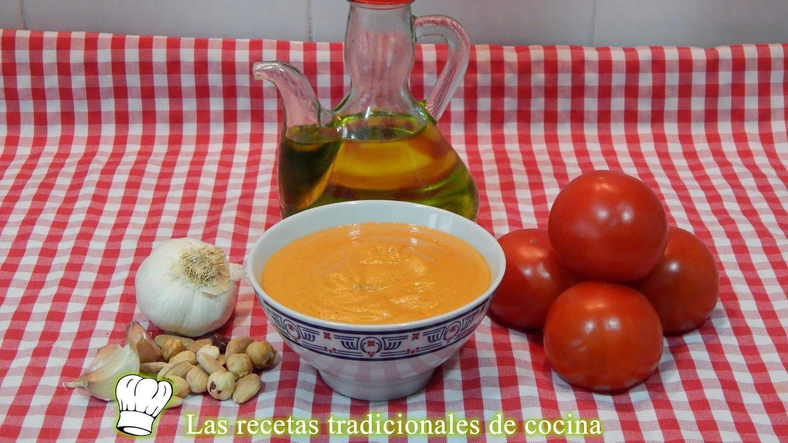 Receta de la Salsa Romesco / Receta fácil y tradicional