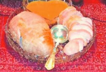 Pechugas de pavo con salsa de frutas