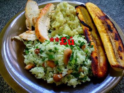 preparar arroz de leite com arroz da terra