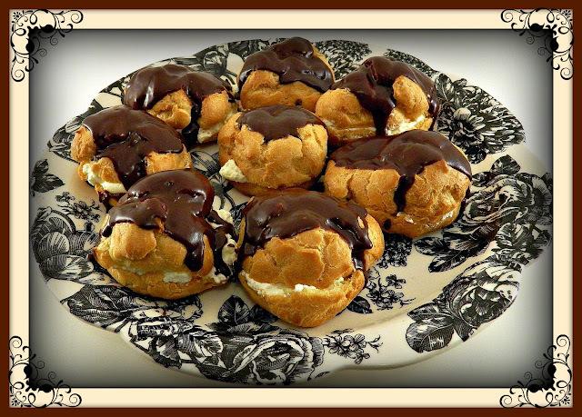 Chocolate Eclair Puffs