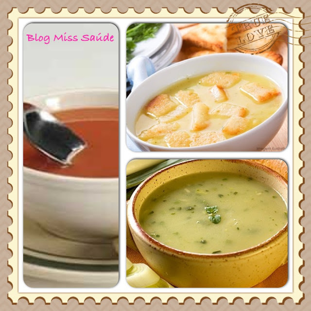 Festival de Sopas: Receitas com até 150 kcal por porção.