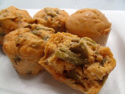 Muffins de vagem