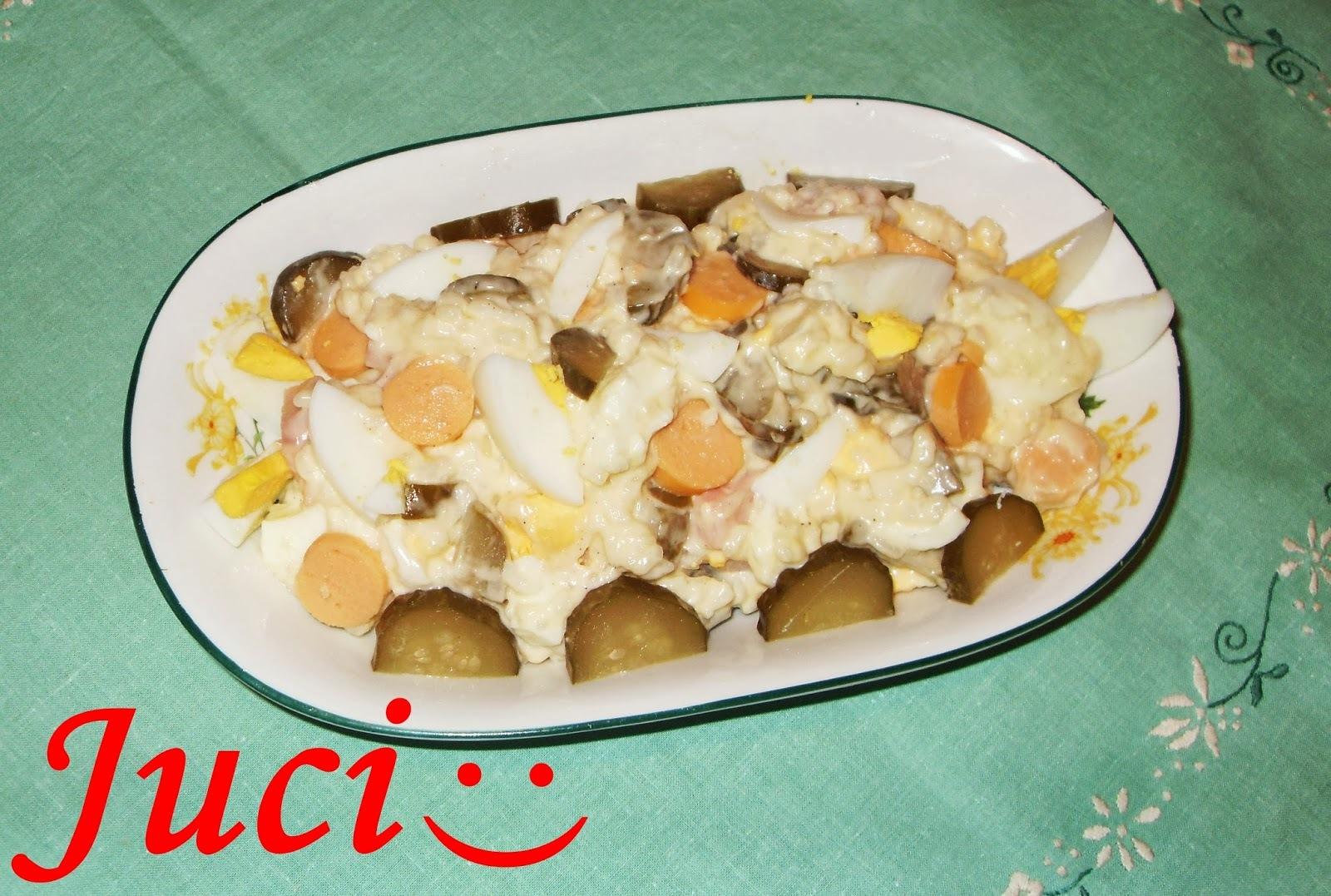 Majonézes rizses saláta