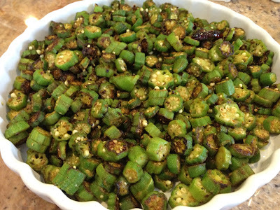 Simple Bhindi (Okra) Fry