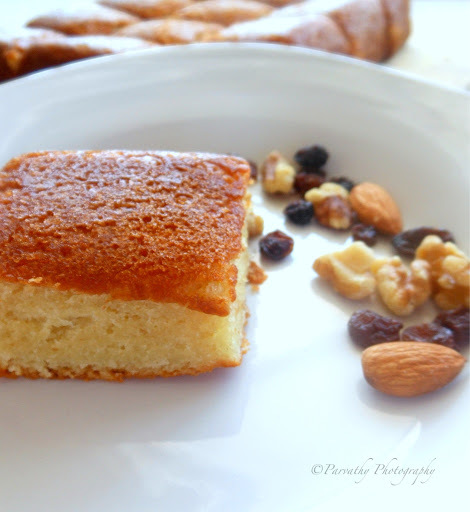 eggless pineapple sponge cake in pressure cooker without condensed milk