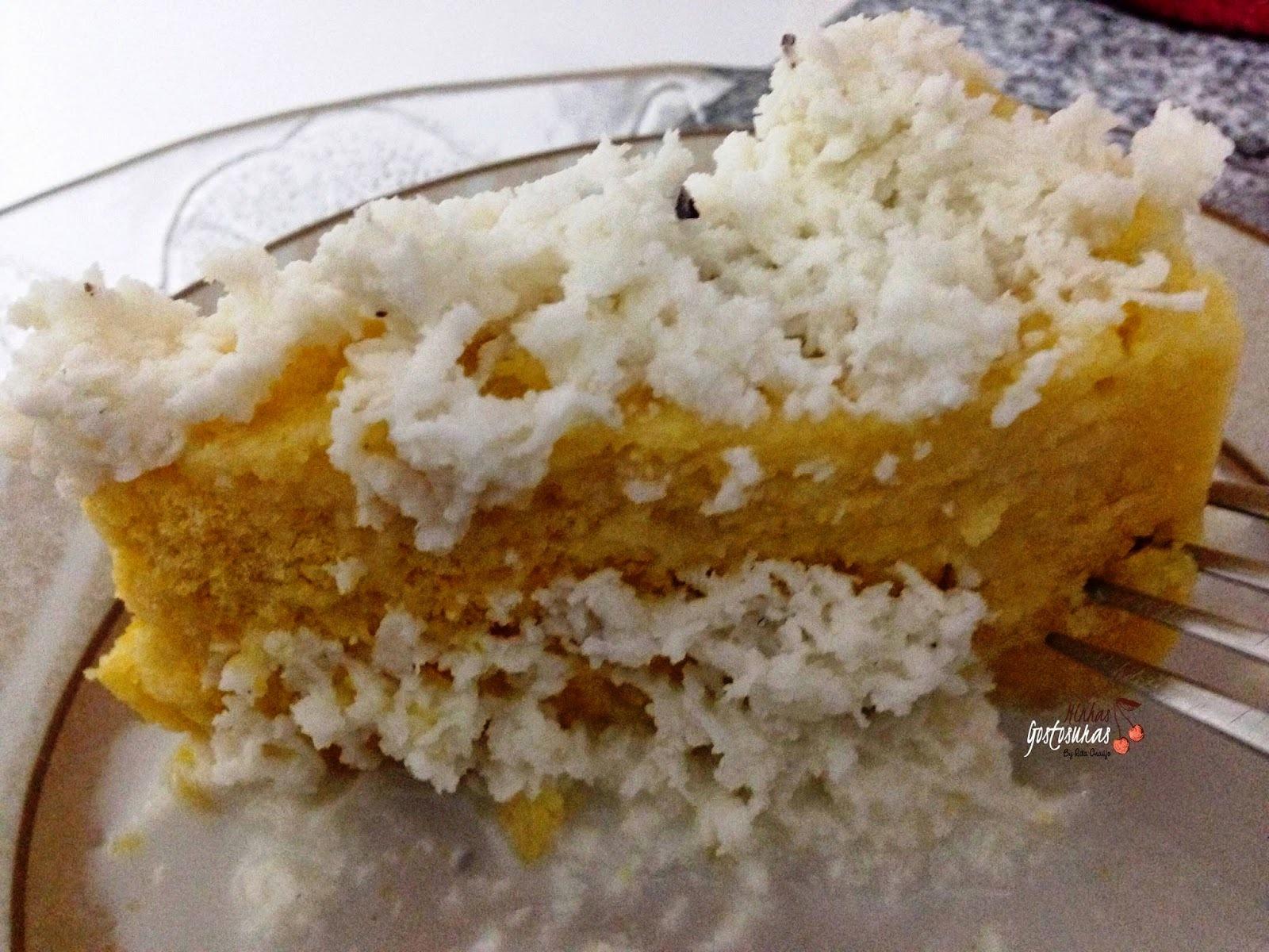 Cuscuz doce de milho com coco
