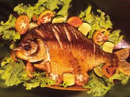 peixe pacu recheado assado no forno