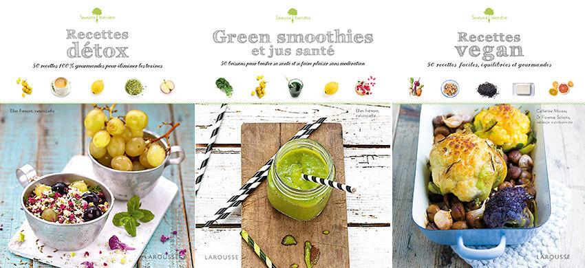 [Livres] Recettes Detox  | Green Smoothies | Recettes Vegan