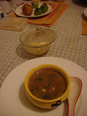 lemon coriander soup indian