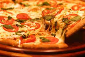 Pizza Marguerita esfoliada
