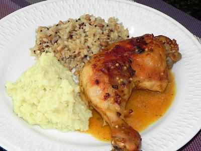 Molho para colocar no frango depois de assado