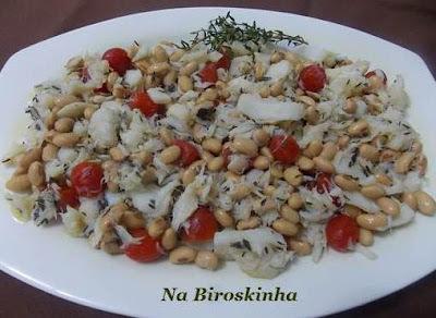 Salada de Soja com Bacalhau -  SGSL