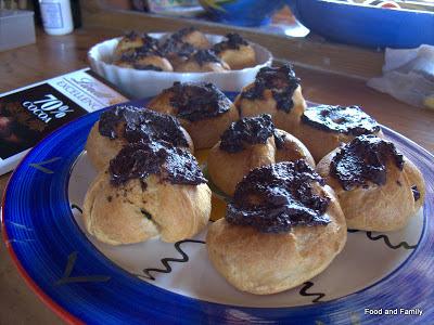 Milk Tart Profiterole Challenge for World Baking Day