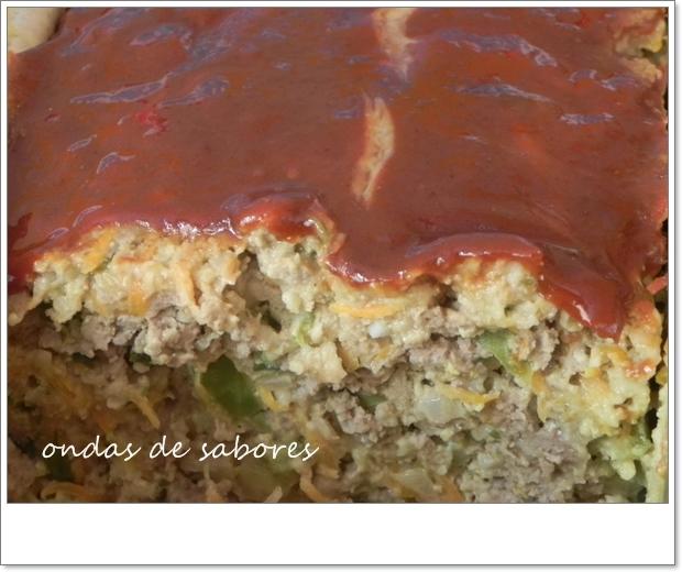Bolo de Carne com Legumes... com Cobertura*****